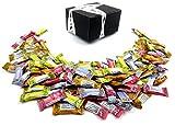 Gem Gem Ginger Candy 4-Flavor Variety: One 1 lb Assorted Bag of Original, Mango, Orange, and Lemon in a BlackTie Box