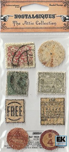 Rebecca Sower Design by Sticko Attic Collection Beaded Stamps Nice!