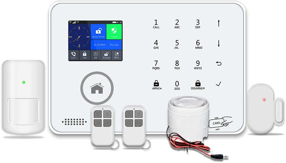 BAILING Wireless LCD 3G WiFi & SMS Home House Security Burglar Intruder Alarm System with Auto Dialer