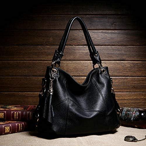 女性PUレザーエレガントな機能のハンドバッグショルダーバッグクロスボディバッグ YZUEYT