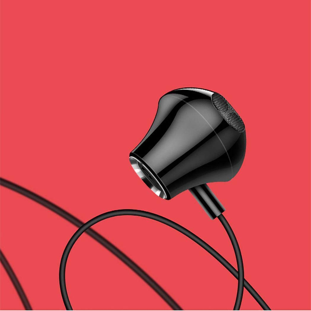 bommon Bluetooth Headphones Wireless Earphones HiFi Bass Stereo in-Ear Earbuds with Mic Noise Cancelling Bluetooth Headset for Sport