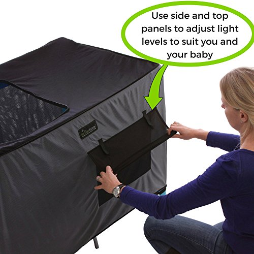Snoozeshade Pack N Play Crib Canopy And Tent Breathable