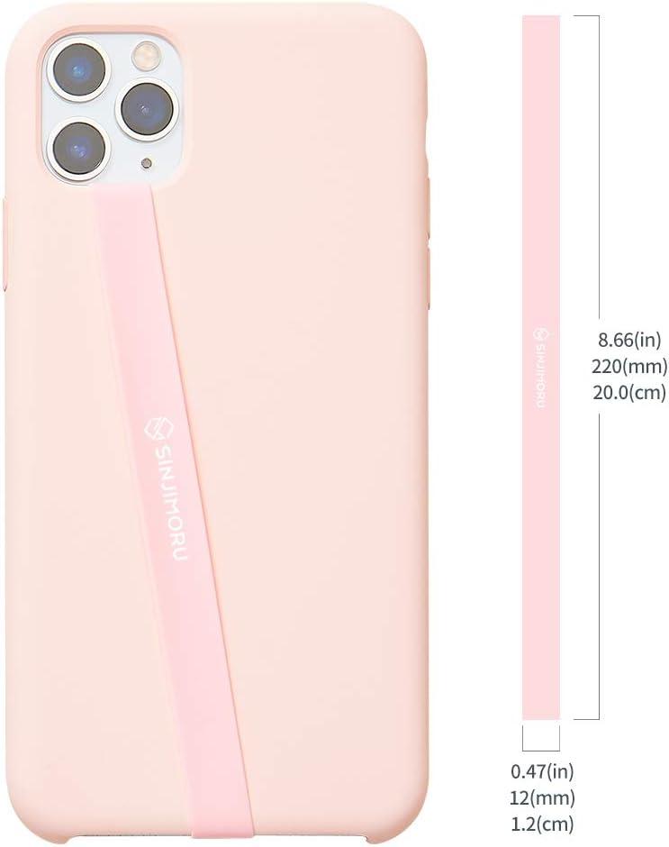 Sangle /Élastique en Silicone pour T/él/éphone Portable Sinjimoru Sinji Loop Sangle S/écuris/é pour T/él/éphone Portable Gris Sinji Loop Bande pour /Étui iPhone