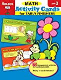 Activity Cards for Early Finishers, The Mailbox Books Staff, 1562348930