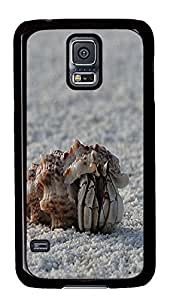 girly Samsung Galaxy S5 cases Hermit Crab 2 Animal PC Black Custom Samsung Galaxy S5 Case Cover