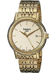 Tissot Mens T0854103302100 Analog Display Quartz Gold Watch