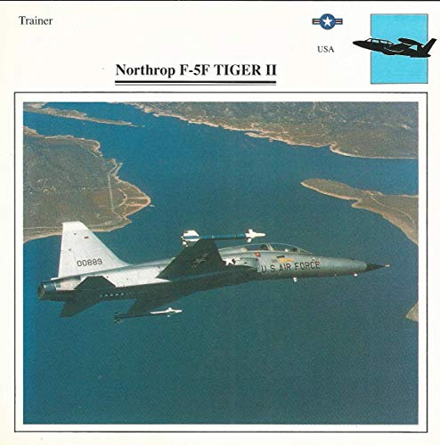 1990 Edito-Service, War Planes Cards, Airplanes, 28.11 Northrop F-5F -
