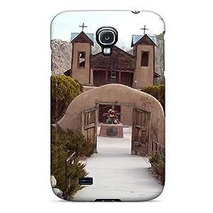 Protective Tpu Case With Fashion Design For Galaxy S4 (el Santuario De Chimayo)
