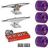 Skateboard KIT Indy 149 Trucks OJ Hot Juice 60mm Wheels Trans Purple Super Reds