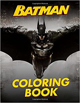 Amazon BATMAN Coloring Book Great Pages For Kids And Adults 9781981907076 Tiny Hero Books