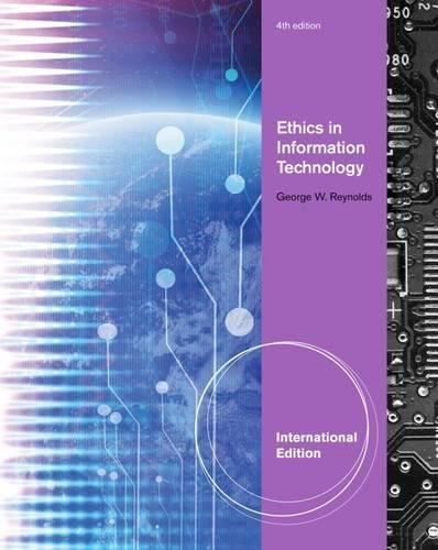 Download Ethics in Information Technology pdf