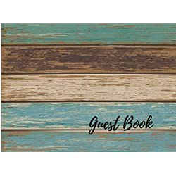 Guest Book: Vintage For Events, Wedding, Birthday, Anniversary. Party Guest Book. Free Layout. Use As You Wish For Names & Addresses, Sign In, Advice, Wishes, Comments, Predictions (Guests)