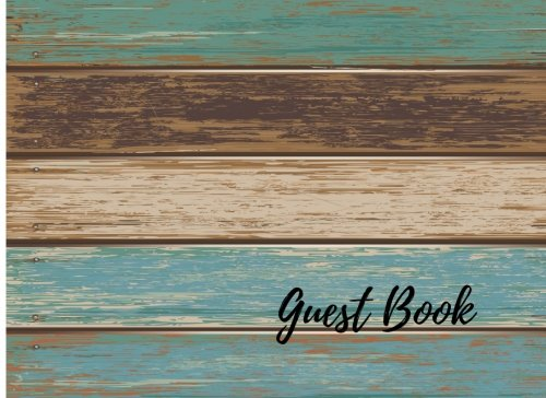 Guest Book: Vintage For Events, Wedding, Birthday, Anniversary. Party Guest Book. Free Layout. Use As You Wish For Names & Addresses, Sign In, Advice, Wishes, Comments, Predictions (Wedding Sign In Book)