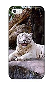 david jalil castro's Shop Durable Case For The Iphone 5/5s- Eco-friendly Retail Packaging(white Tiger)