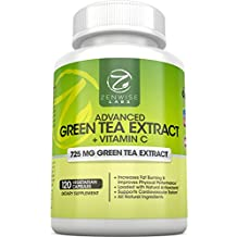 Green Tea Extract Supplement with EGCG for Weight Loss - Decaffeinated Vegetarian...