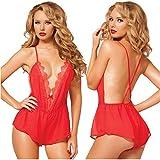 Best FTXJ Babydolls - Sleepwear, FTXJ Women Sexy Babydoll Lingerie Lace Underwear Review