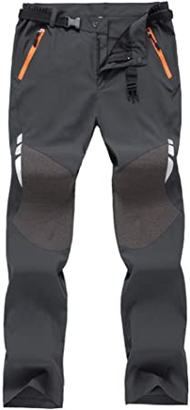 Pantalones de Trekking Hombre, Pantalon Trekking Caliente ...