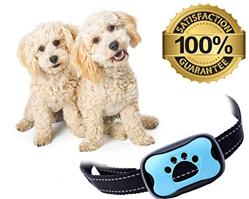 Bark Control Device Small Medium Large Dogs Upgrade Barking Training Collar Beep Levels Extremely Effective Collar Safe Anti Bark Device by PAJP