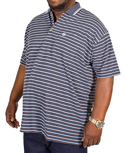Brooklyn Clothing Herren Poloshirt blau navy