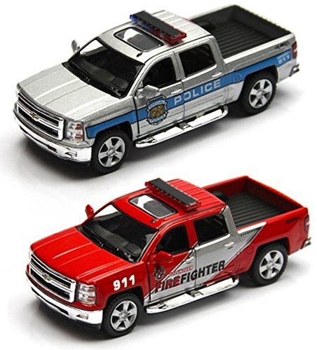 2014 Chevrolet Silverado Police & Firefighter Pick-up Truck (2 Set)