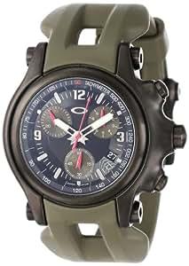Oakley Men's 10-281 Holeshot 10th Mountain Division Unobtainium Limited Edition Chronograph Watch