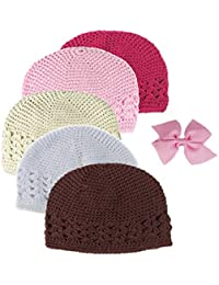 Boutique Girls Stretch Headbands and Hats Value Pack
