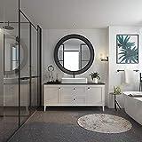 Marmolux Acc Bathroom Towel Holder Round Black