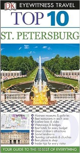 St Petersburg DK Eyewitness Top 10 Travel Guide