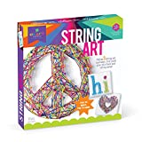"Designed for children age 10 years and above, this best-selling arts and crafts kit features three different 8.5"" sturdy foam canvases pre-printed with a peace sign, a heart, and the word ""hi"". This creative kit for teens and tweens also includes 60 ..."
