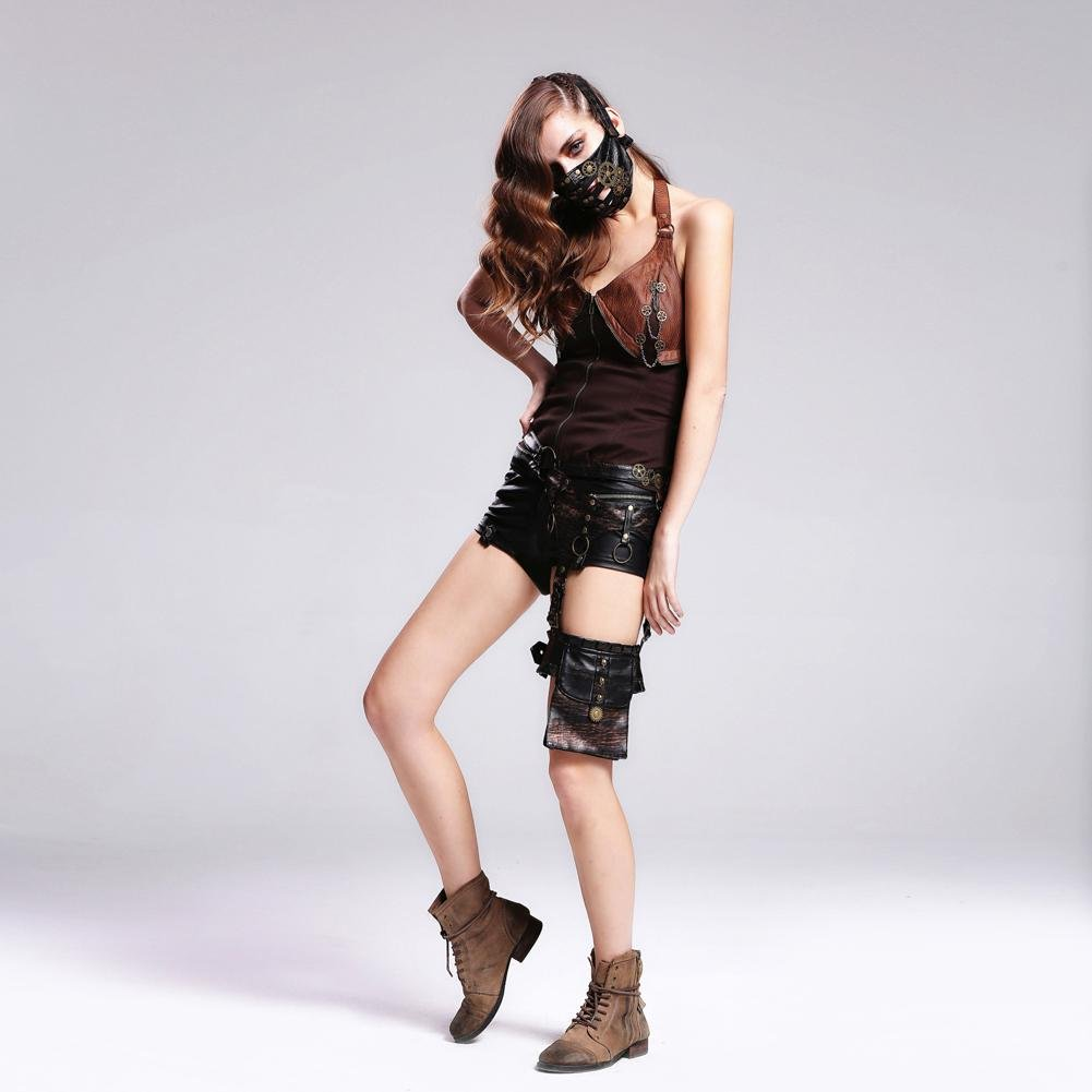WPYZL Steam punk skull gear belt waist belt legs fashion women by Bumbag&KAIMENDAJI (Image #7)