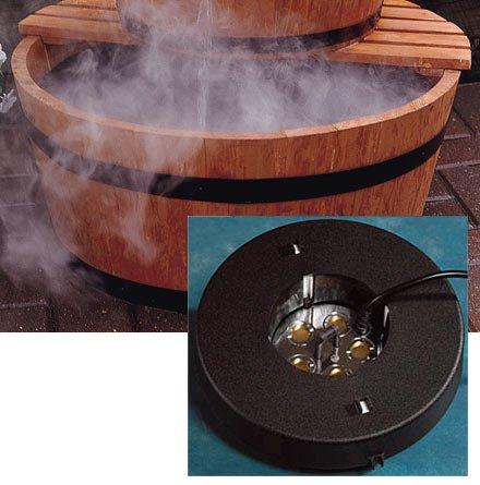 Five Disk Fogger Kit With Fogger - Floating Pond Fogger
