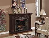 ClassicFlame 33WM0194-C232 Astoria Wall Fireplace Mantel, Empire Cherry (Electric Fireplace Insert sold separately)