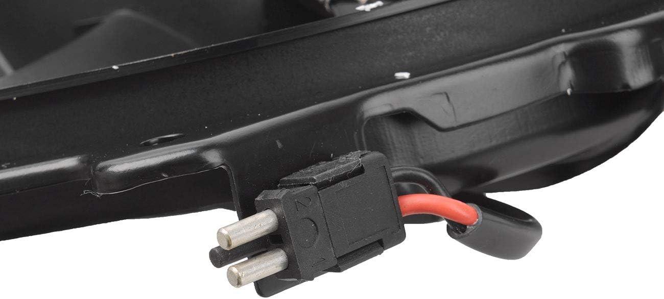 TOPAZ 0015001693 Radiator Cooling Fan Assembly for Mercedes-Benz W210 E300 E320 E420