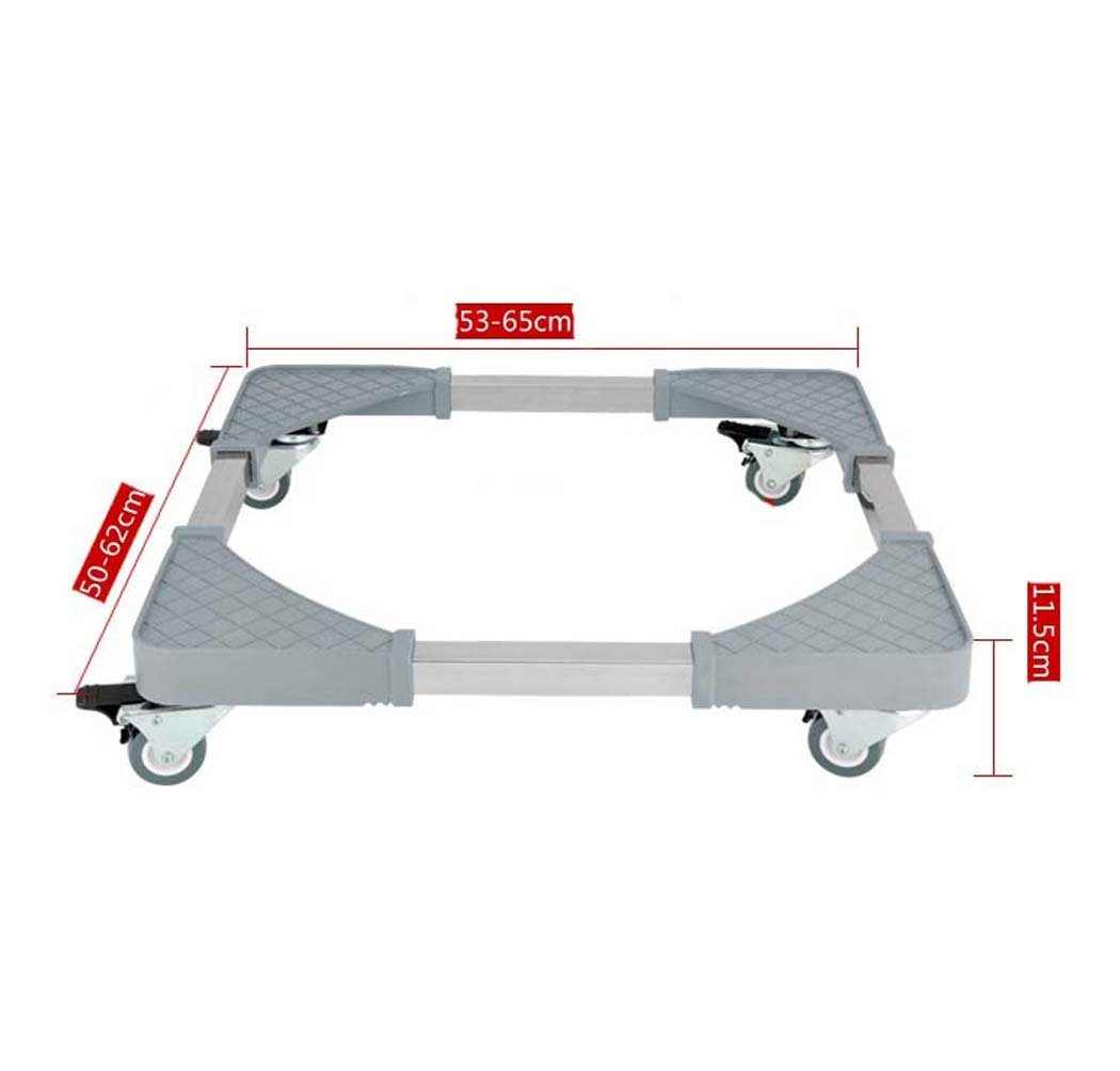 DSHBB Washing Machine Base, Universal Multi-functional Adjustable Base With Casters,for Dryer,Washing Machine And Refrigerator (Size : 1) by DSHBB (Image #2)