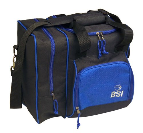 BSI Deluxe Single Ball Tote Bag (Black/Blue)