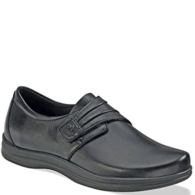 af2621cf8e1c Apex Women s Linda Classic Monk Strap Shoe - Black 5 B(M) US