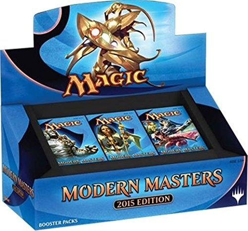 MTG Magic the Gathering Modern Masters 2015 Booster Box Display (24 packs, each with a premium foil) by Hasbro