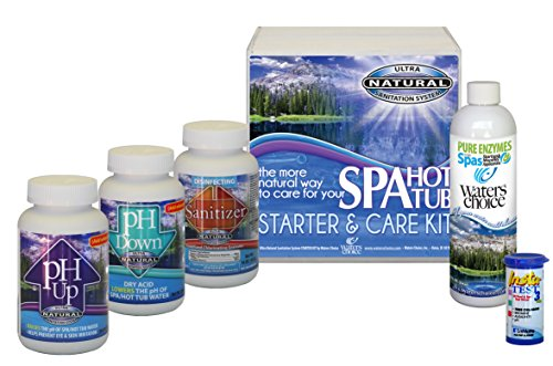 Waters Choice Spa Start Up and Water Maintenance Kit 1 Month Supply