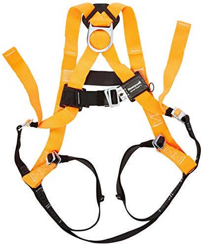 Miller Titan by Honeywell TF4000/UAK Polyester T-Flex Stretchable Harness, Universal
