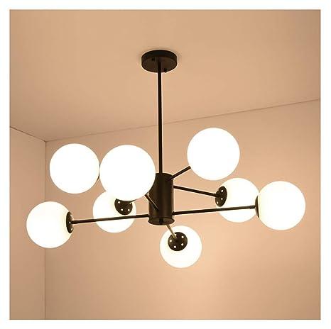 Lámparas colgantes Lámparas de 8 luces Lámparas de techo de ...
