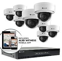 Alibi 8 Camera 4k 8 0 Megapixel 120 Ir Outdoor Ip Dome