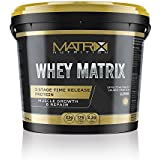 Whey Matrix Protein | Concentrate Sports Nutrition Gainer Powder Shake | Optimum Lean Muscle Growth All in One Drink