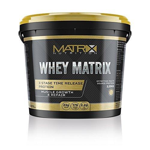 Whey Matrix Protein Powder 2.25kg - Whey Protein Blend - ...