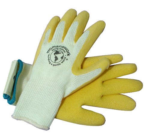 Womanswork 390yL Bog Glove, Yellow, Large