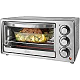 Oster 6-Slice Toaster Oven, Stainless Steel