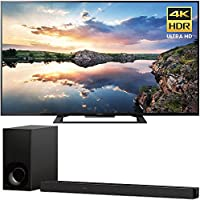 Sony KD70X690E 70 4K HDR X-Reality PRO Ultra HD TV with Motionflow XR 3840x2160 & Sony HTZ9F 3.1Ch 4K HDR Compatible Dolby Atmos Soundbar with Built-in WiFi & Bluetooth