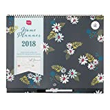 2018 Boxclever Press Home Planner calendar. Month-to-view family organiser. Starts straight away until December 2018.