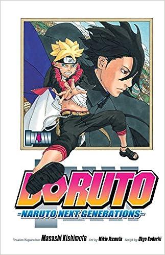 Amazon.com: Boruto, Vol. 4: Naruto Next Generations (4 ...