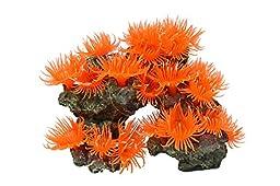 Vitality SH310 Faux Coral Aquarium Decorating Ornament, Orange