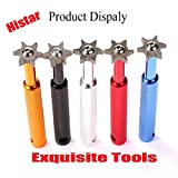 HISTAR Golf Club Groove Sharpener and Cleaner Tool with 6 Heads From Specialty Golf Products